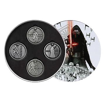 Star Wars 7 Sammeldose First Order Mit Exklusiven Münzen Amazonde