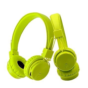 mictech X3 inalámbrica bluetooth auriculares gran sonido sin cables inalámbrico llamadas y música, tarjeta de TF Play, entrada de audio 4 en 1 auriculares ...