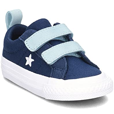 20783bbed816 Converse One Star 2V OX - 760763C - Color Navy Blue - Size  10.0 ...