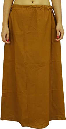 Cotton Indian bollywood wedding sarees sari petticoat underskirt shops UK 022
