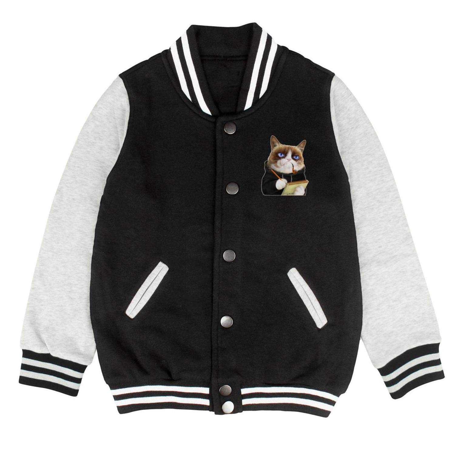 Grumpy cat Police Unisex Coats and Jackets for Kids