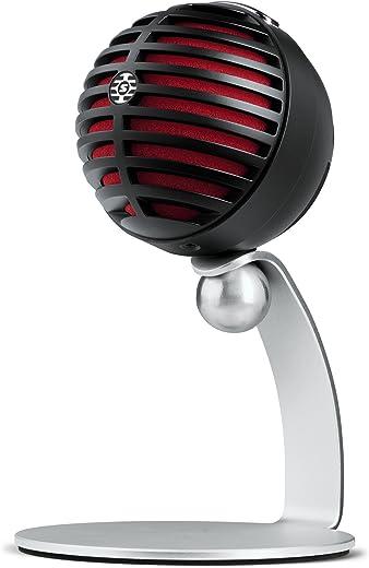 Shure Mv5 Microfono Digitale A Condensatore, Usb E Cavo Lightning, Nero