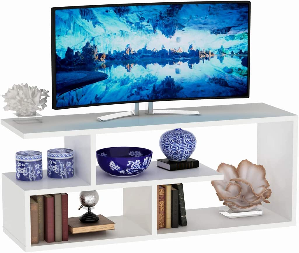 Vivense Masal - Mueble para televisor (100 cm), Color Blanco: Amazon.es: Hogar
