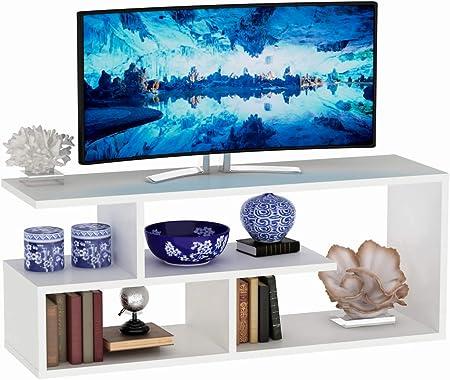 Vivense Masal - Mueble para televisor (100 cm), Color Blanco ...