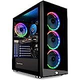 iBUYPOWER Gaming PC Computer Desktop Element MR 9320 (Intel i7-10700F 2.9GHz, NVIDIA GTX 1660 Ti 6GB, 16GB DDR4 RAM, 240GB SS