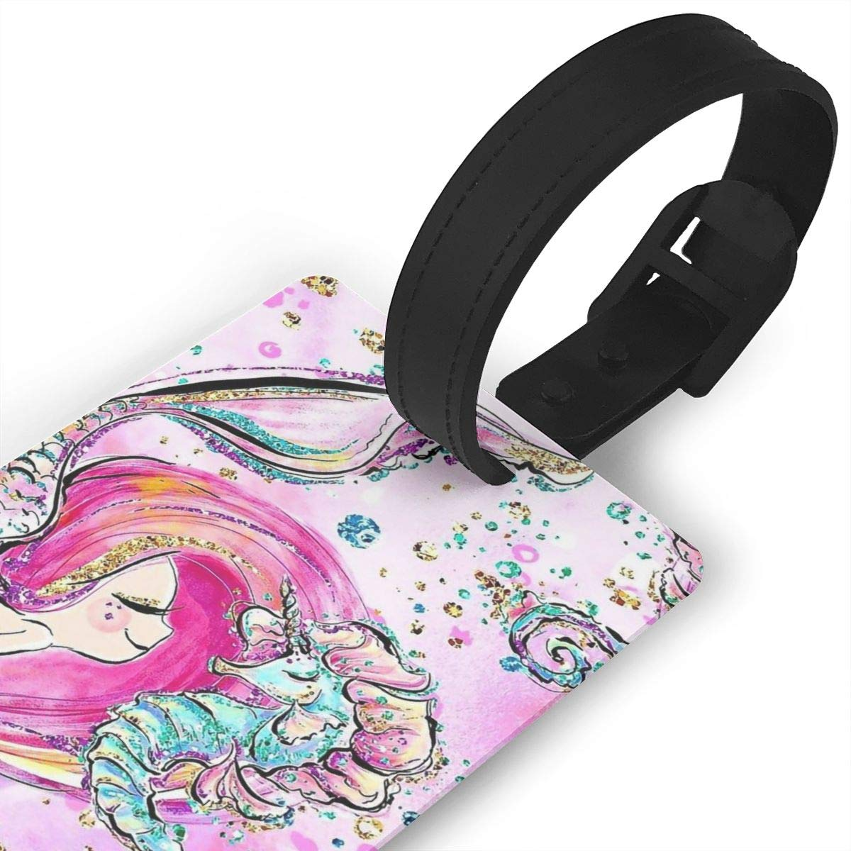 Sea Horse Baggage Tag For Travel Tags Accessories 2 Pack Luggage Tags