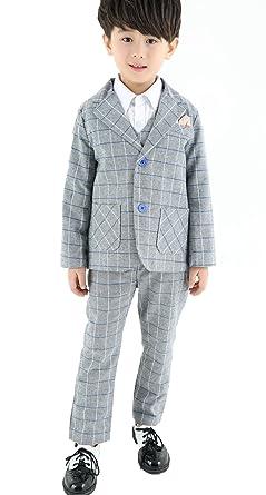 c635f1dbeba47 (モリハニ) moli hani フォーマル 子供 スーツ キッズスーツ チェック 柄 子ども 結婚式 発表会