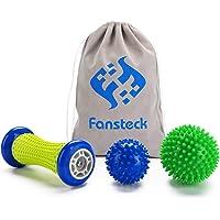 Voetmassage roller en massageballen voor plantaire fasciitis, fan plug fascia ball roller & ball set, pijnverlichting…