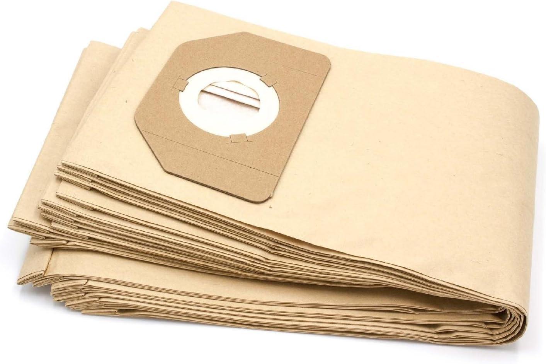 vhbw 10 bolsa papel compatible con Parkside (Lidl) PNTS 30/7 E ...