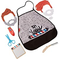 Fisher-Price Style & Shave Barber Shop, 10-Piece Pretend Play Set
