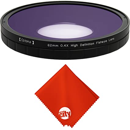 Amazon com : Opteka 0 4X Large Element Low Distortion Fisheye Lens