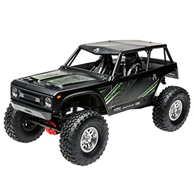 Axial Wraith 1.9 1/10 Scale Electric 4WD RTR RC Rock Crawler with 2.4GHz Tx/Rx System, Black: Toys & Games