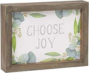 FRAMED JOY SIGN