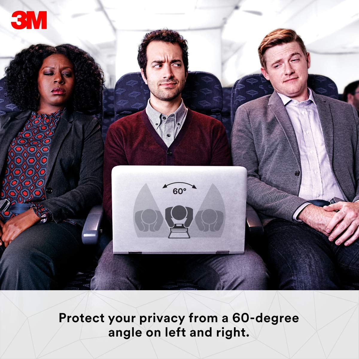 3M Gold Privacy Filter for 13'' Apple MacBook Air (GFNAP002) by 3M (Image #3)