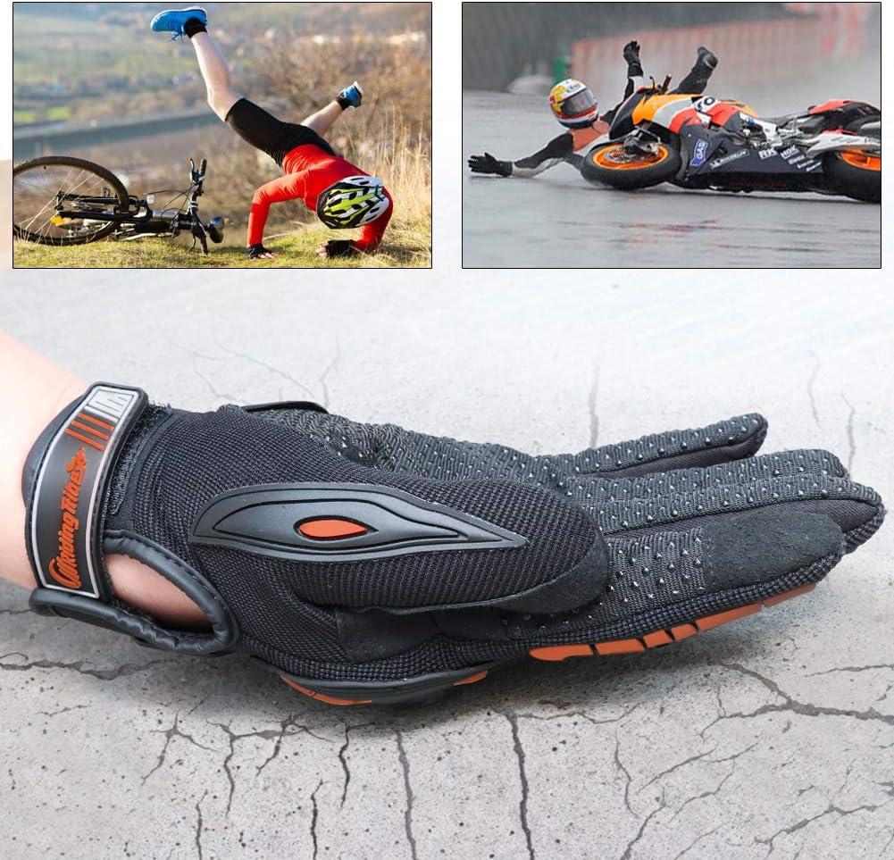 COFIT Motorrad Handschuhe Klettern Motorcross Mountainbike Schwarz Orange Gr/ün M//L//XL Touchscreen Motorradhandschuhe f/ür Motorradrennen Wandern und andere Outdoor-Sportarten und Aktivit/äten