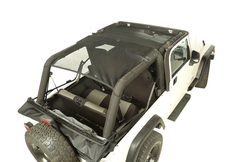 Rugged Ridge 13579.75 Eclipse Sun Shade Front//Rear Black; 18-19 Jeep Wrangler JL 2-Dr