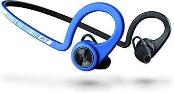 Amazon Com Plantronics Backbeat Fit Training Edition Sport Earbuds Waterproof Wireless Headphones Access To Interactive Audio Coaching From The Pear Personal Coach App Power Blue