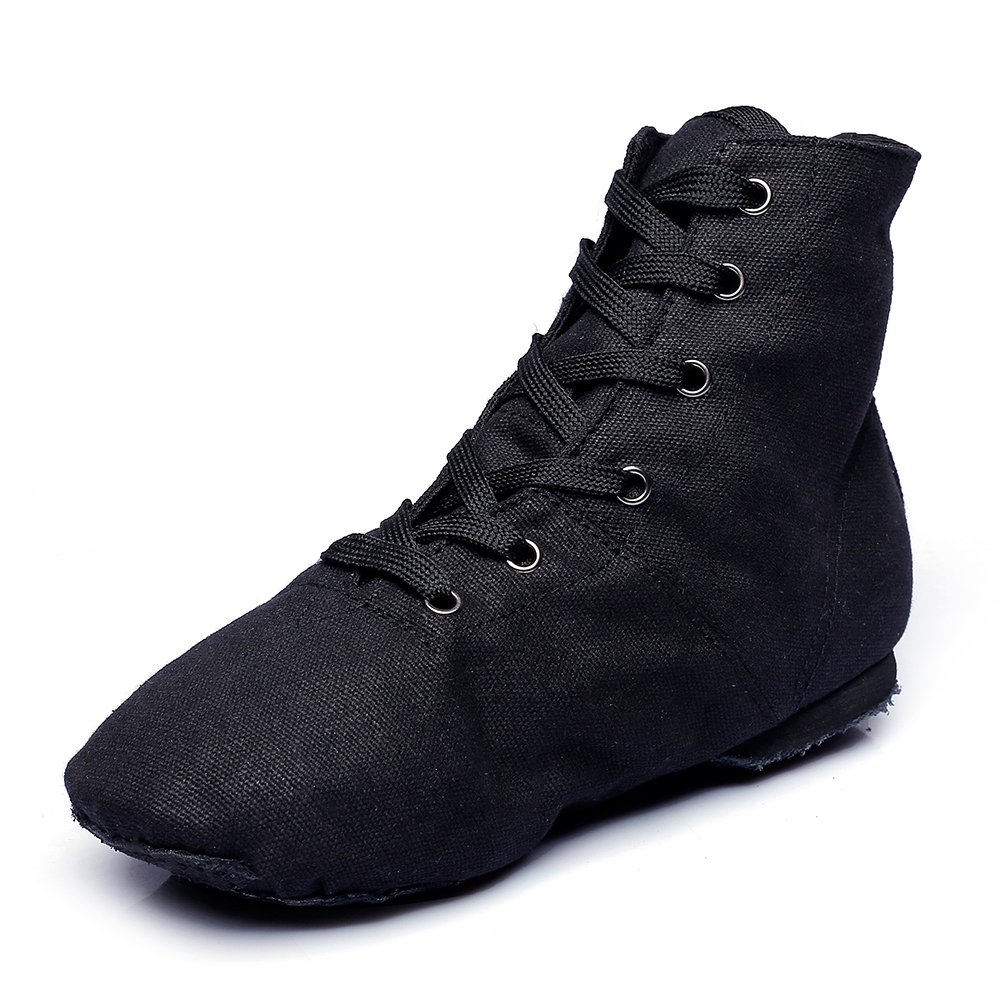 9a33eadaef446 Amazon.com | Canvas Women's Jazz Dance Boots Red/Black/White/Green | Ballet  & Dance