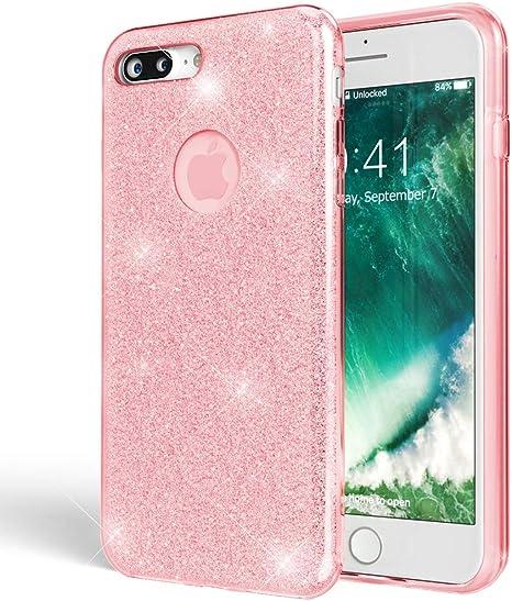 EU Ultra Slim Custodia iPhone 7 Copertura Protettiva Sottile Plus