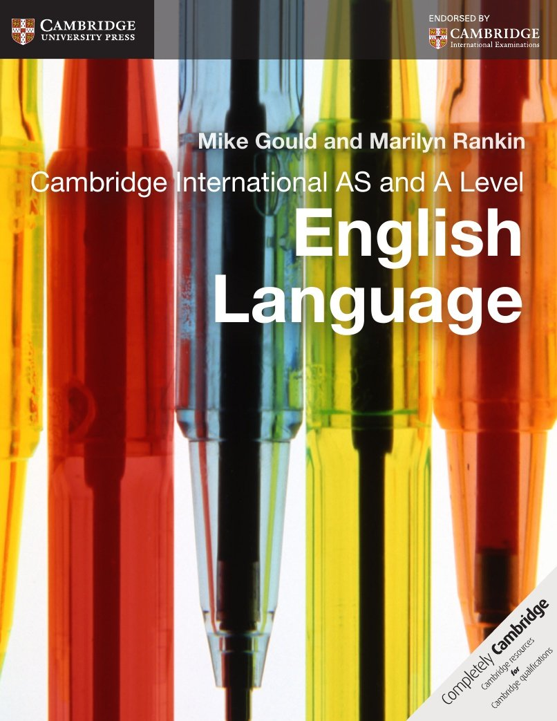 Cambridge International AS and A Level English Language Coursebook (Cambridge International Examinations) by imusti