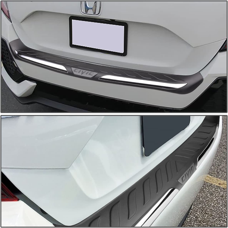 for 16-17 Honda Civic 4-Dr Sedan DNA MOTORING PT-ZTL-8016 Rear Bumper Protector//Cover