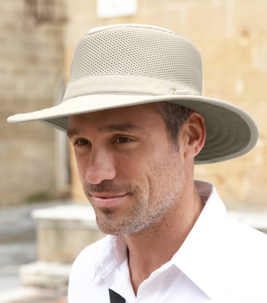 Tilley TM10 Wide Brim with Cooling Mesh UPF 50+ Hat, 7 1/4 or 22 3/4 in. by Tilley (Image #2)