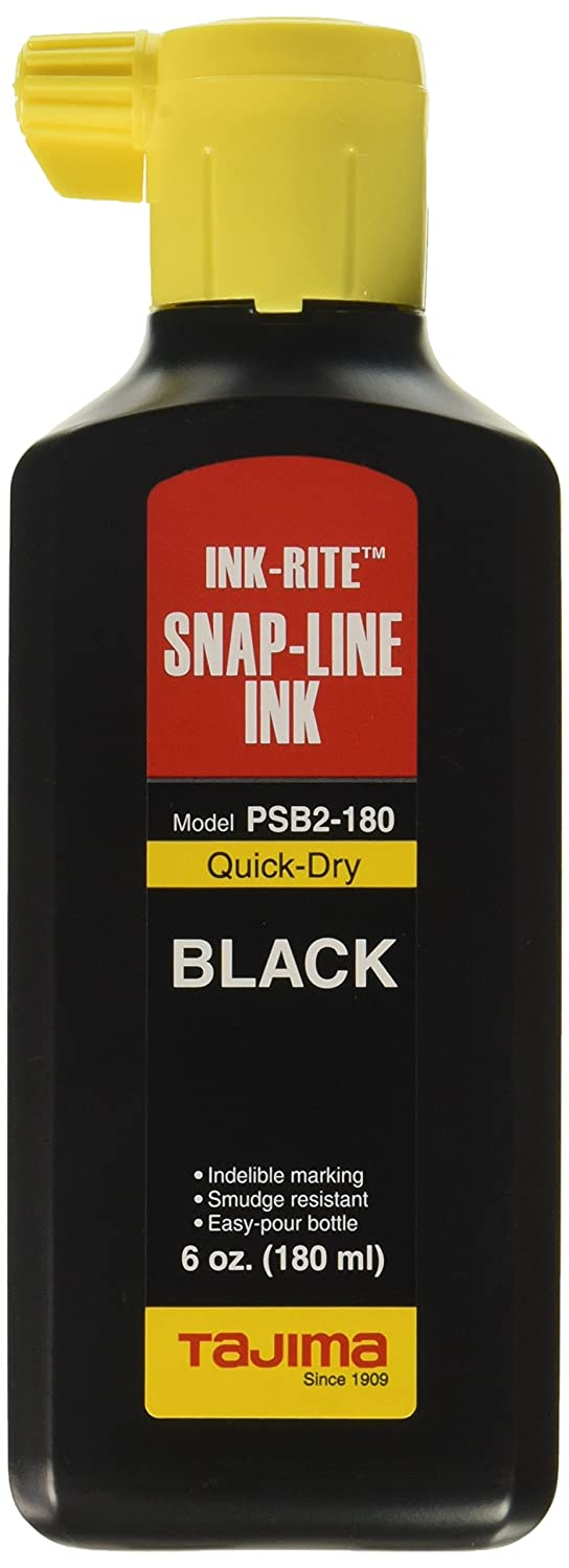 Tajima PSB2 180 INK RITE Quick Dry Black Ink 6 oz