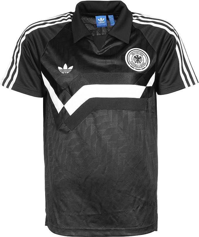 adidas Originals Germany Away de los hombres Polo Negro AJ8022 ...