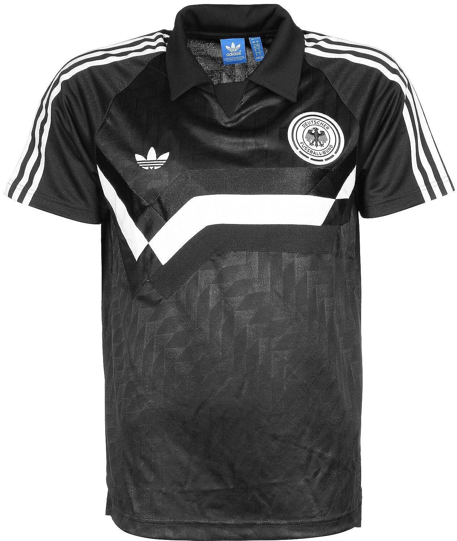 adidas Originals Germany Away de los hombres Polo Negro AJ8022: Amazon.es: Ropa y accesorios