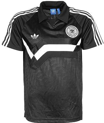 fa7356141f51 adidas Originals Mens Germany Away Jersey in Black: adidas Originals ...