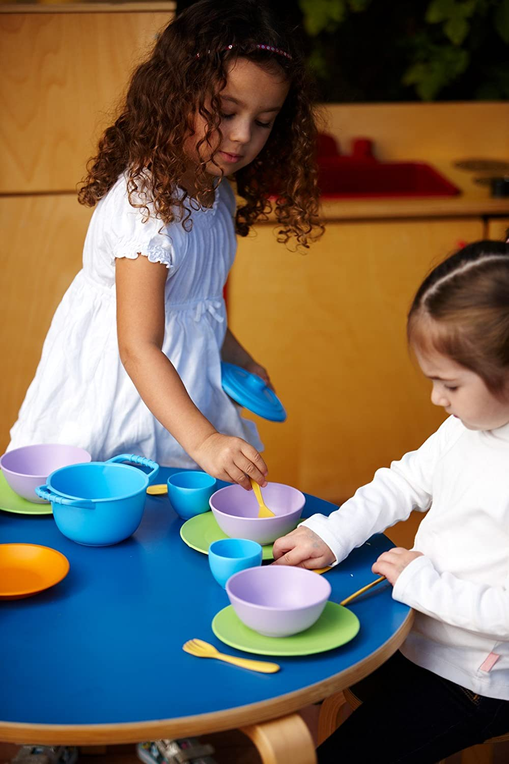 Green Toys Cookware and Dining Set Multicoloured DIN01R