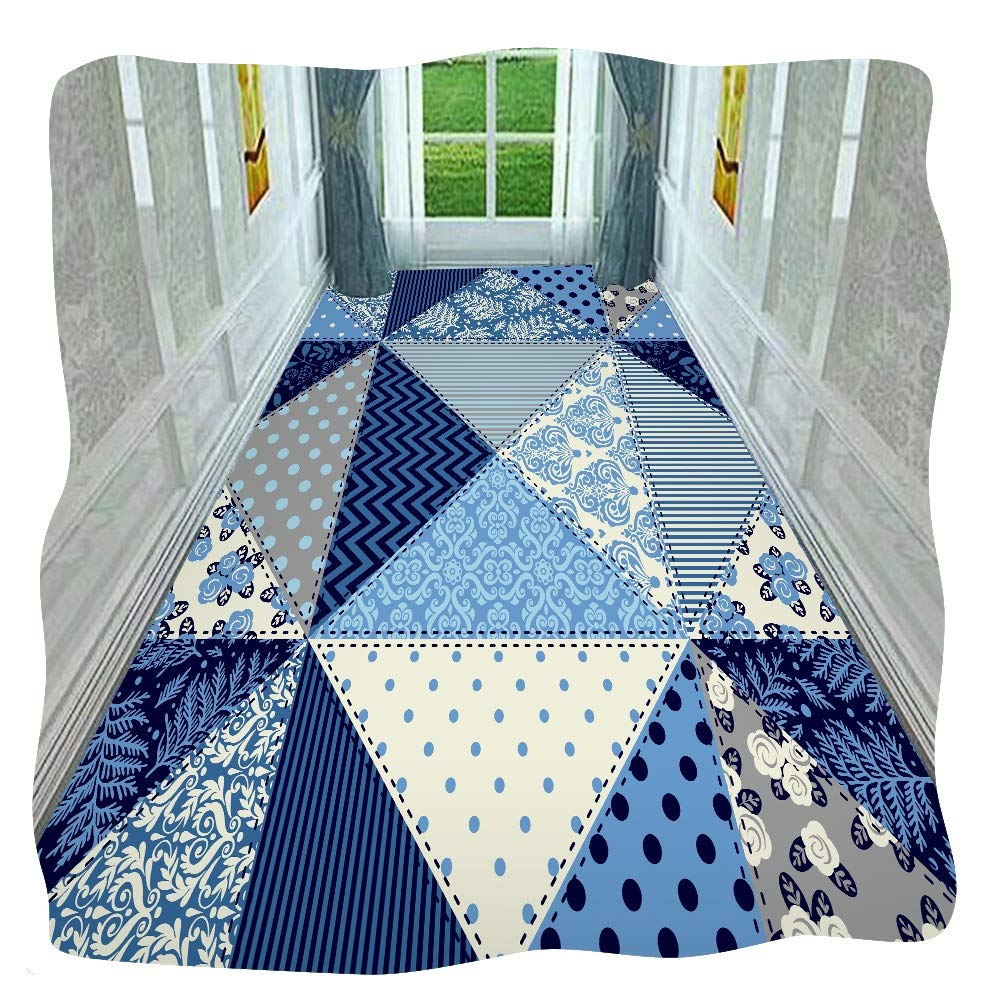 HAIPENG 廊下敷きカーペット 滑り止め 廊下 ランナー ラグ 入り口 カーペット 長いです 廊下 マット 洗える フォーマル (色 : A, サイズ さいず : 1.6x4.5m) B07S9KGQR4 A 1.6x4.5m