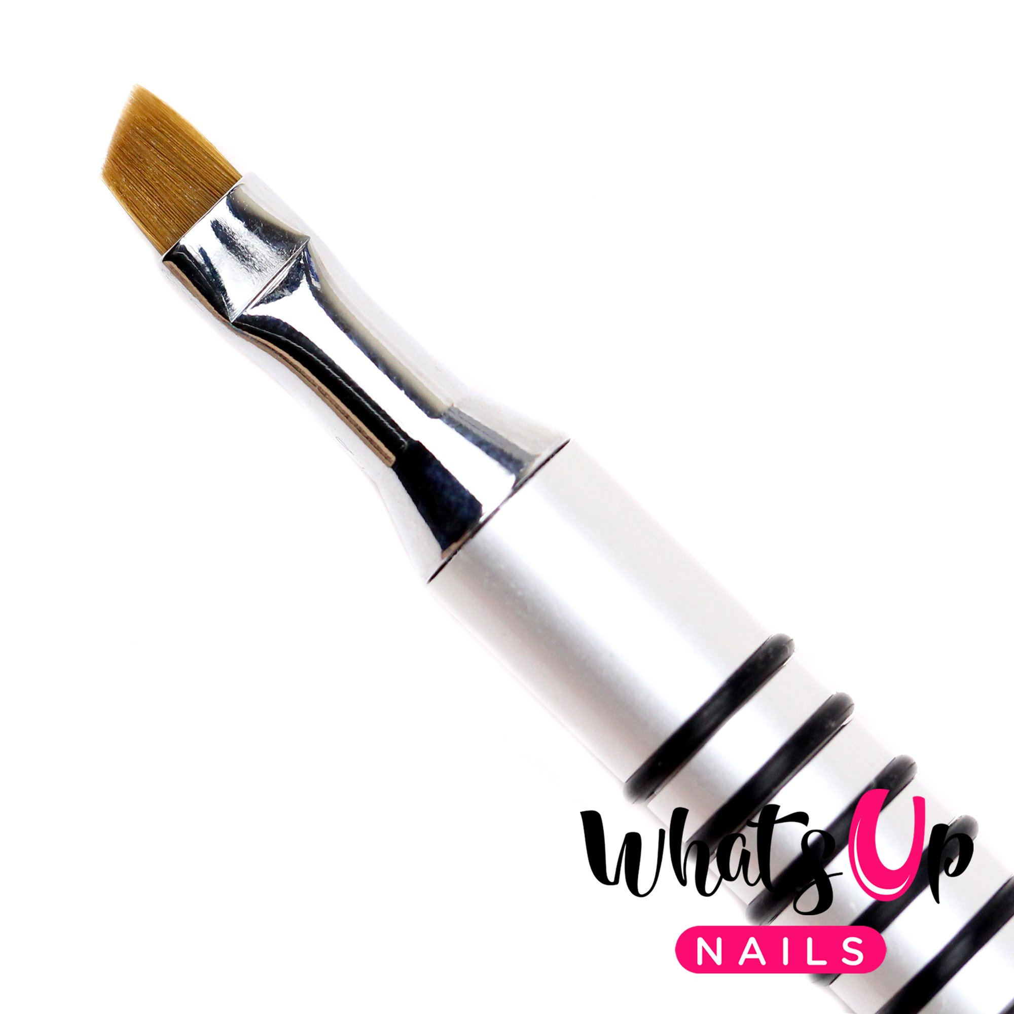 Whats Up Nails - Pure Color #4 Angular Brush for Clean Up