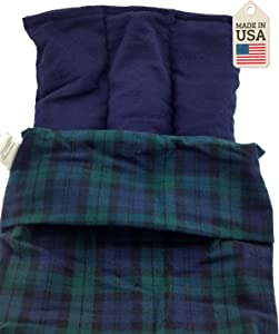 Lumbar Pac - The Lower Back Hot or Cold Pack - Black Watch Plaid