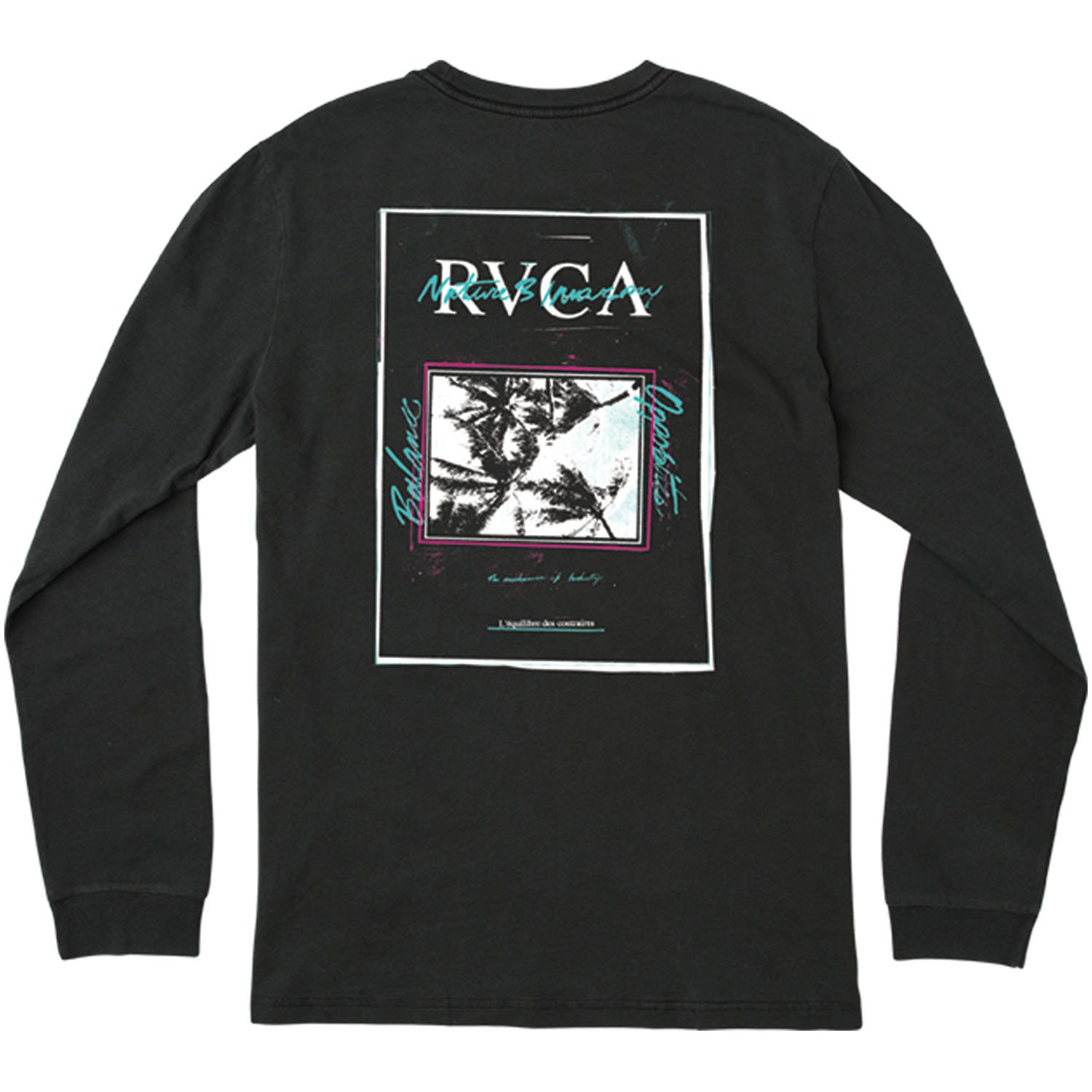 182dfe7ba Amazon.com: RVCA Men's Balance Flyer Long Sleeve T-Shirt: Clothing