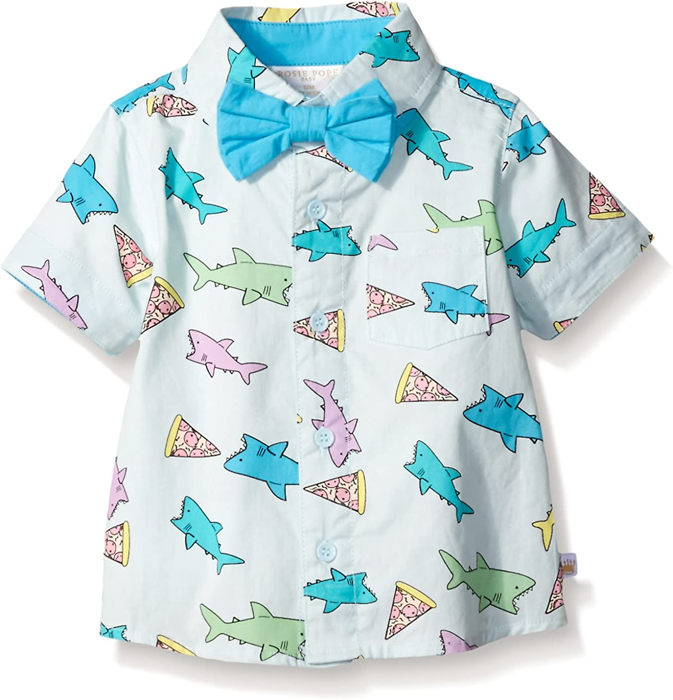 Rosie Pope Baby Boys Dress Shirt
