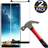 [2 Pack]Samsung Galaxy Note 8 Screen Protector Tempered Glass Film[Case Friendly][Anti-Bubble][3D Curved][3d Full…