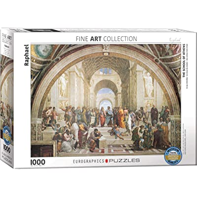 EuroGraphics School of Athens by Raphael 1000 Piece Puzzle: Toys & Games