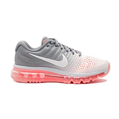 competitive price 569e5 0f7c9 Nike AIR Max 2017 Pure Platinum White-Cool Grey-HOT Lava 2017 TG. 38 cm 24 Pure  Platinum White-Cool Grey-HOT Lava  Amazon.co.uk  Shoes   Bags