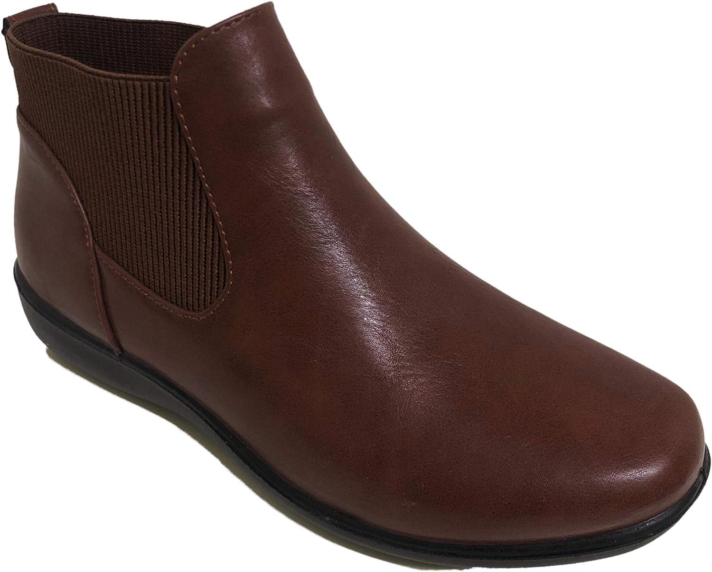 Cushionflex Jayne Brown Ladies Ankle