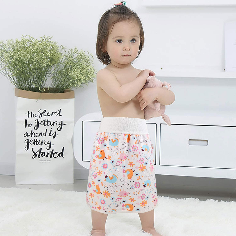 Flyish Baby Trainingshose High Waist Cotton Sleepy Windelhose Urinpolster Klimmz/üge Lernhose Potty Underwear Windelunterw/äsche 2 St/ück