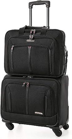 """Aerolite 17/"""" Executive cabine approuvé bagages à roulettes ordinateur portable professionnel étui Sac"""
