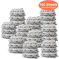 Dry Ice Packs Sheet for Shipping Frozen Food, Reusable Freezer Gel Packs for Coolers, Lunch Box Bag Cold Long Lasting…