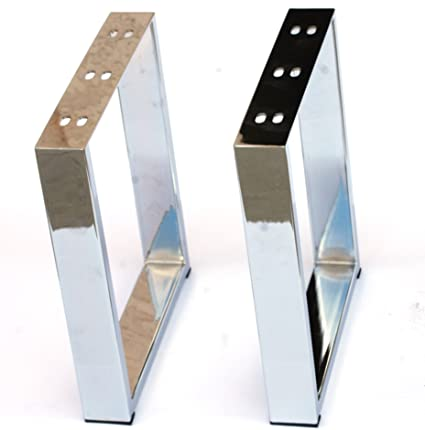 Coffee Table Legs Metal Legs X Shape U Shape Furniture Legs 16u0026quot;  Stainless