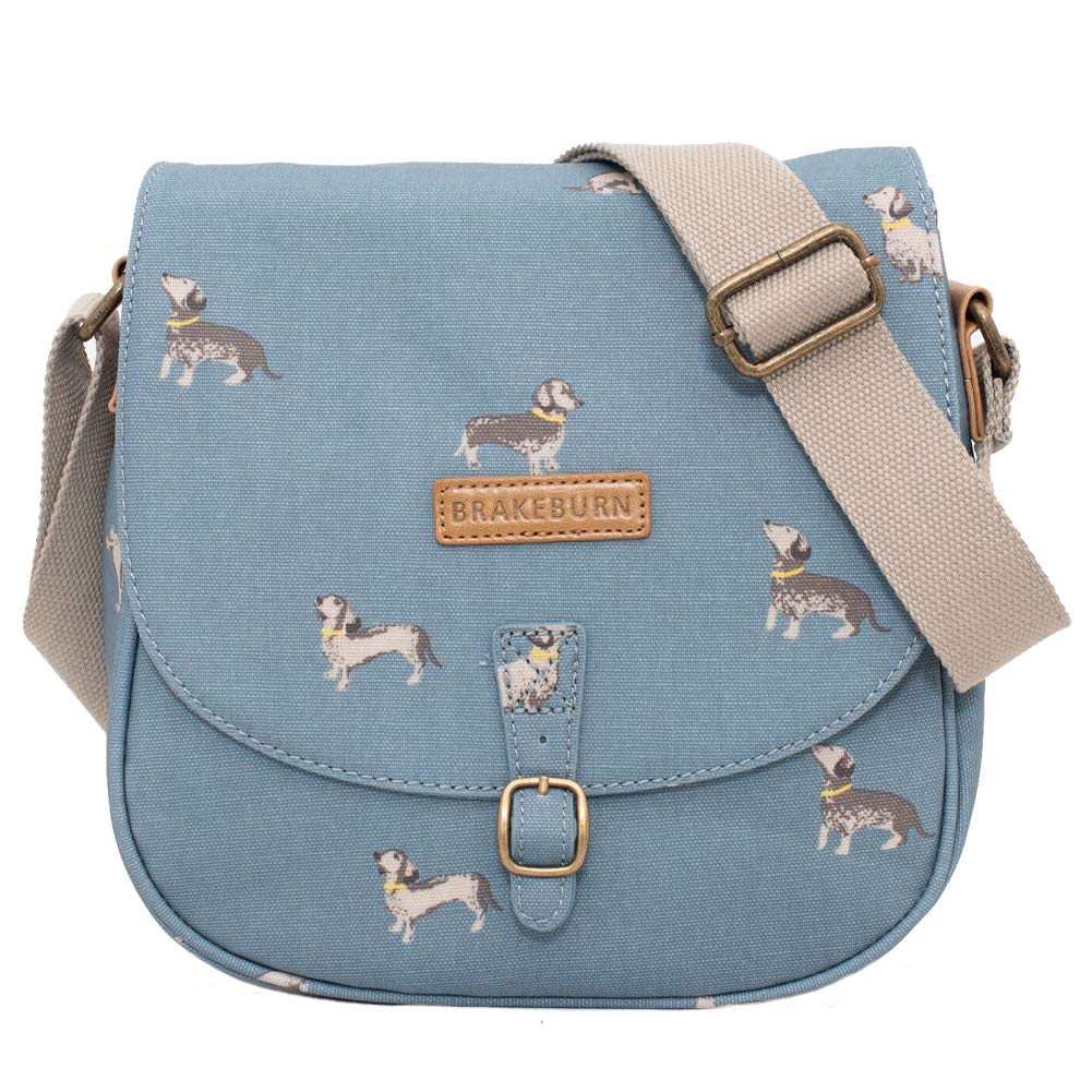 NEW! Brakeburn Ladies Sausage Dog Saddle Bag