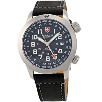 Victorinox Swiss Army Mens 24832 SAF Airboss Mach 5 GMT Watch
