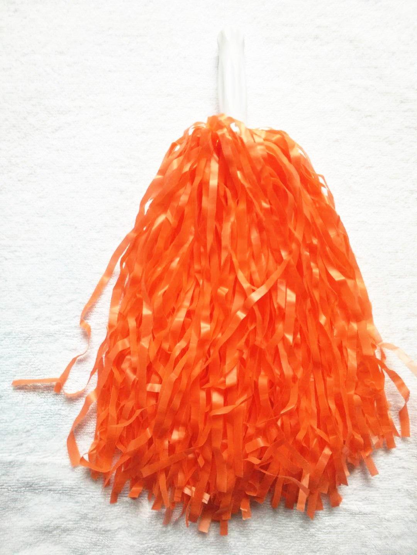 Puzine Cheerleader-Pompons Cheers mit Kunststoffgriff, groß, 12 Stück