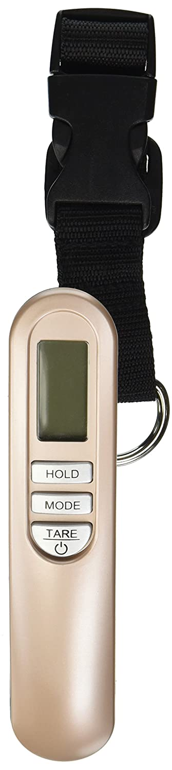 Weighmax HC110 Premium Universal Digital Luggage Scale, 110lb, Gold W-HC110G