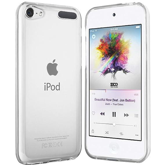 moodie Silikonhülle für iPod Touch 6G Hülle in Transparent - Case Schutzhülle Tasche für iPod Touch 6G