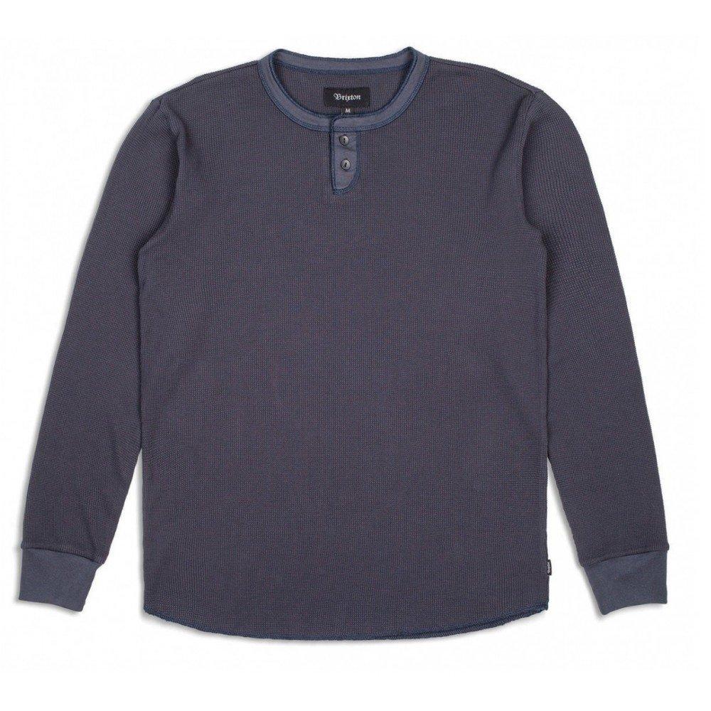 Brixton Mens Berkshire Long Sleeve Henley 02348